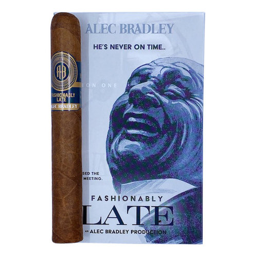 Alec Bradley - Fashionably Late - 5 pack