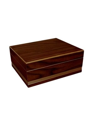 Prestige Imports Duke - Routed Edge Humidor - Holds 50 cigars