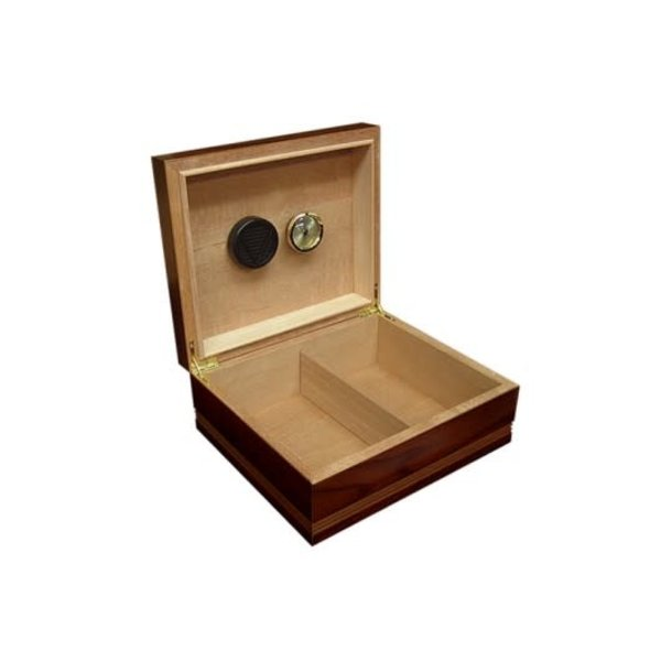 Duke - Routed Edge Humidor - Holds 50 cigars