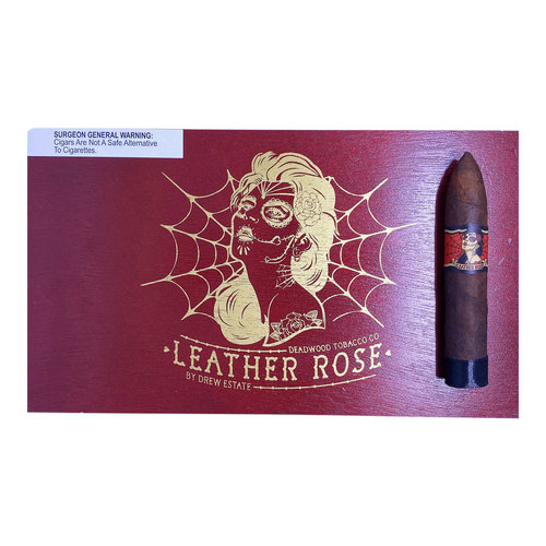Deadwood Tobacco Co. Deadwood Leather Rose - single
