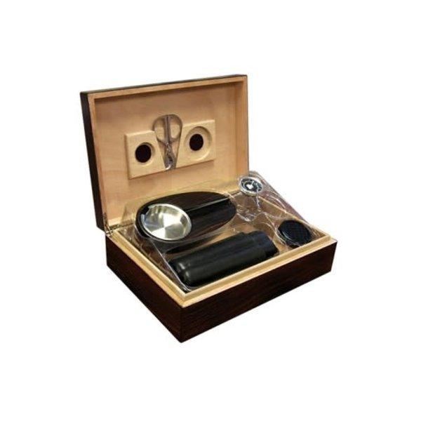 Davenport - Humidor Gift Set - Holds 50 cigars