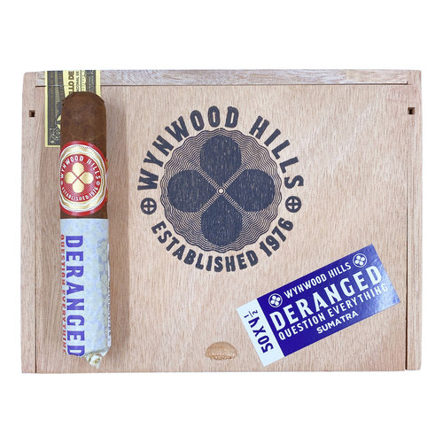 Wynwood Hills Wynwood Hills Deranged 4.5x50 Sumatra - Box 50