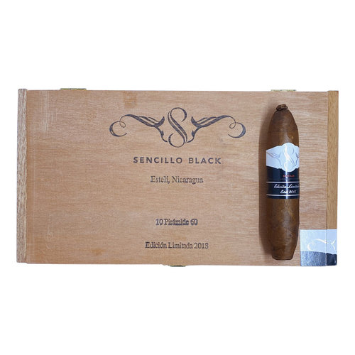 Sencillo Sencillo Black Piramide No. 4 - Box 10
