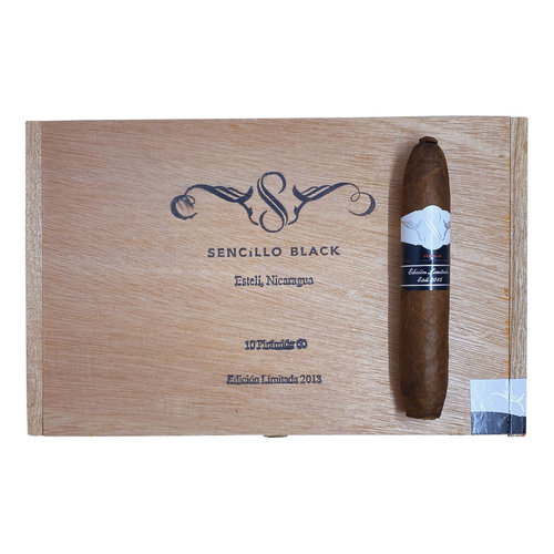 Sencillo Sencillo Black Piramide No. 5 - Box 10