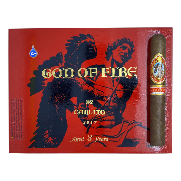 God of Fire by Carlito Double Robusto - single
