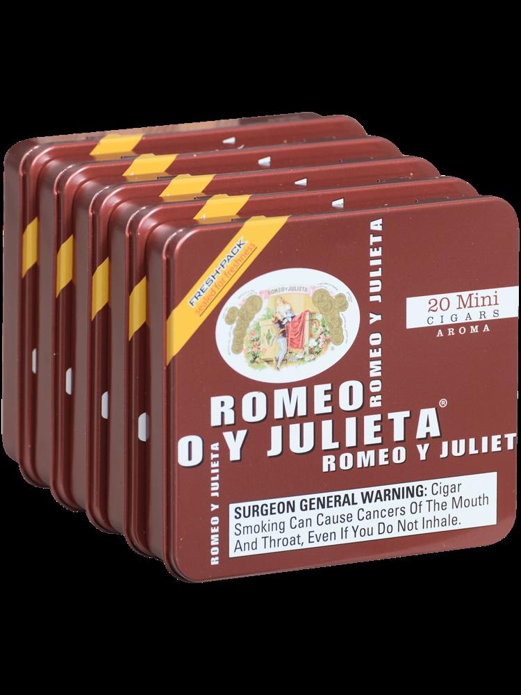 Romeo y Julieta Minis Aroma (Red) - 5/20pk
