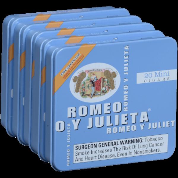 Romeo y Julieta Minis Original (Blue) - 5/20pk