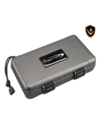 Vector Travel Humidor - Holds 5 - Gray