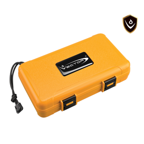 Vector Vector Travel Humidor - Holds 5 - Yellow