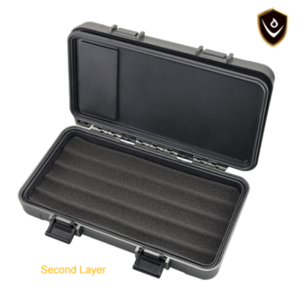 Vector Travel Humidor - Holds 5 - Yellow
