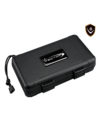 Vector Travel Humidor - Holds 5 - Black
