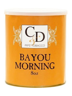 Cornell & Diehl C&D Pipe Tobacco Bayou Morning Tins 8 oz.