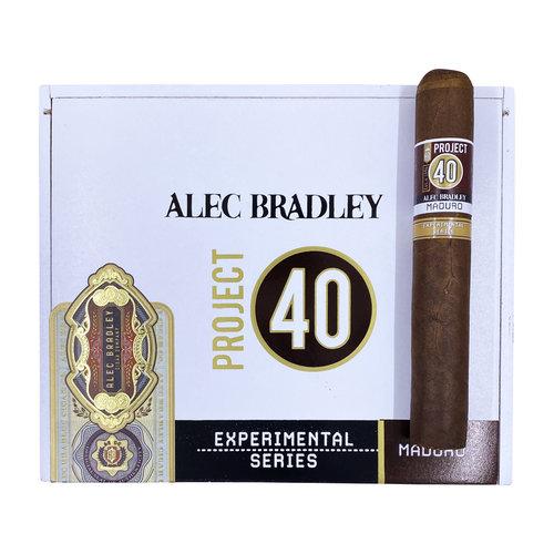 Project 40 by Alec Bradley Project 40 Maduro Gordo 6x60 - single