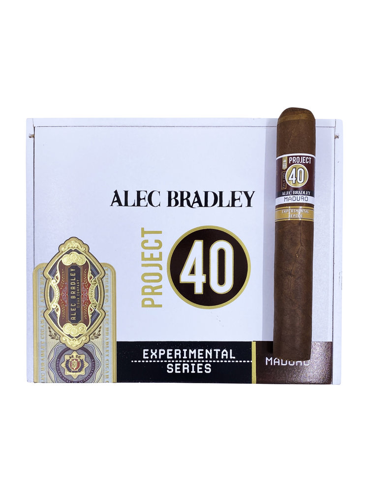 Project 40 by Alec Bradley Project 40 Maduro Gordo 6x60 - single