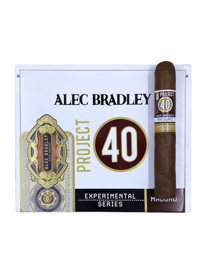 Project 40 by Alec Bradley Project 40 Maduro Robusto 5x50 - single