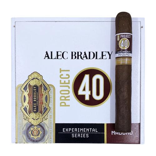 Project 40 by Alec Bradley Project 40 Maduro Toro 6x52 - Box 24