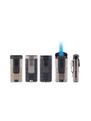 Xikar XIKAR Tactical Triple Torch Lighter - Black