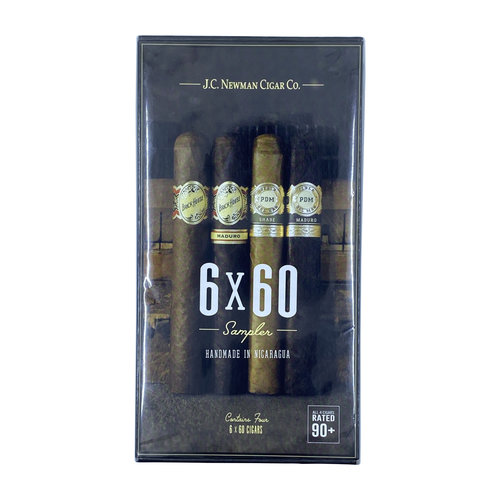 JC Newman 6x60 Sampler - 4 Cigars