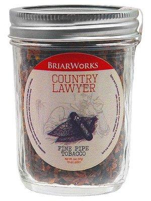 BriarWorks Pipe Tobacco Briarworks Country Lawyer 2 oz.
