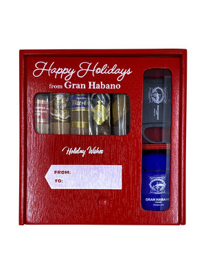 Gran Habano Holiday Sampler - 5 cigars