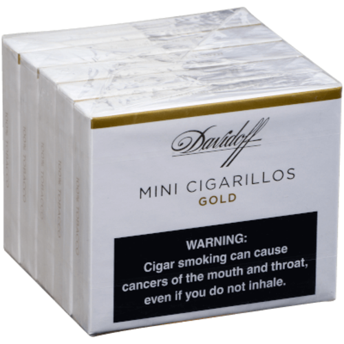 Davidoff Mini Cigarillos Gold - 5/20pk