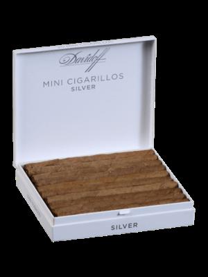 Davidoff Mini Cigarillos Silver - 20pk