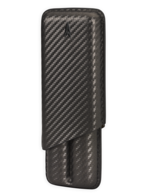 Lotus Lotus 2 Finger Cigar Case (70 ring) - Carbon Fiber Wrap
