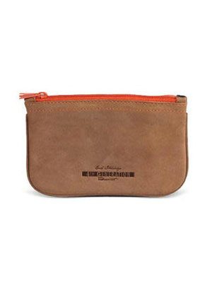 4th Generation 4th Generation - Leather Zip Tobacco Pouch - Hunter Brown