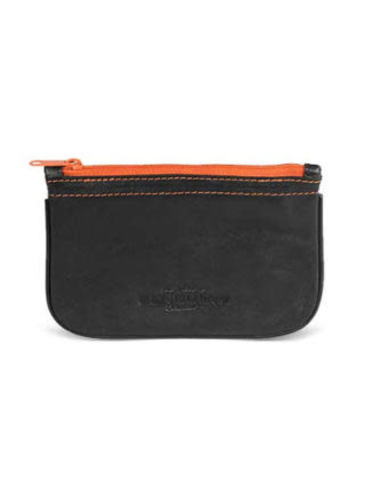 4th Generation 4th Generation - Leather Zip Tobacco Pouch - Black