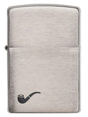 Zippo Zippo Pipe Lighter - Brushed Chrome