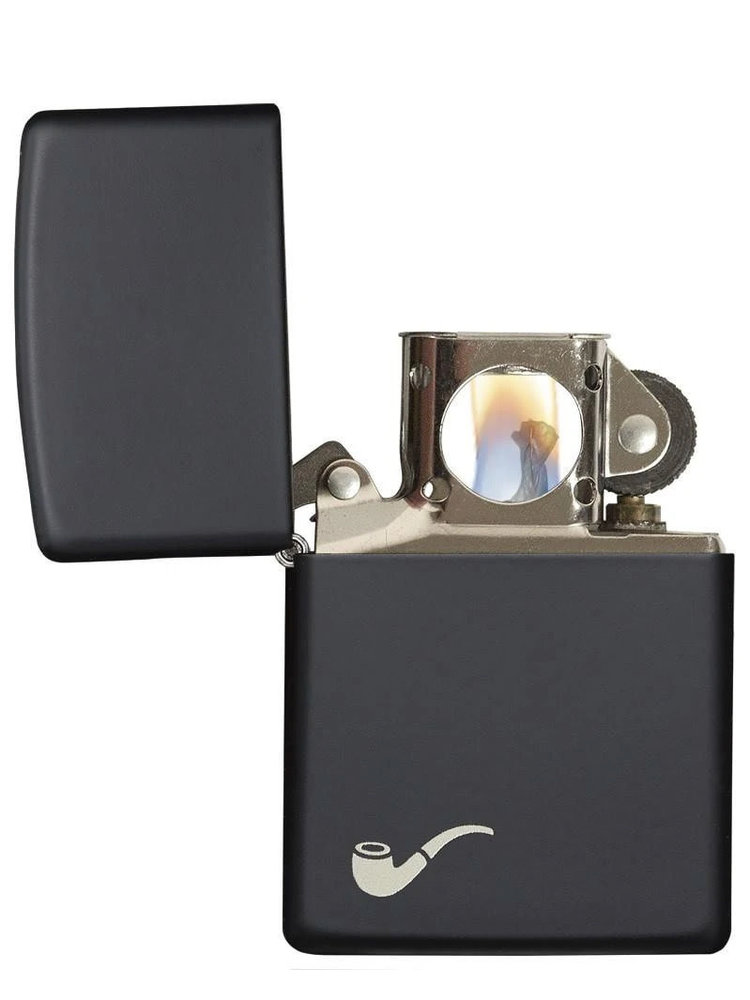 Zippo Zippo Pipe Lighter - Black Matte