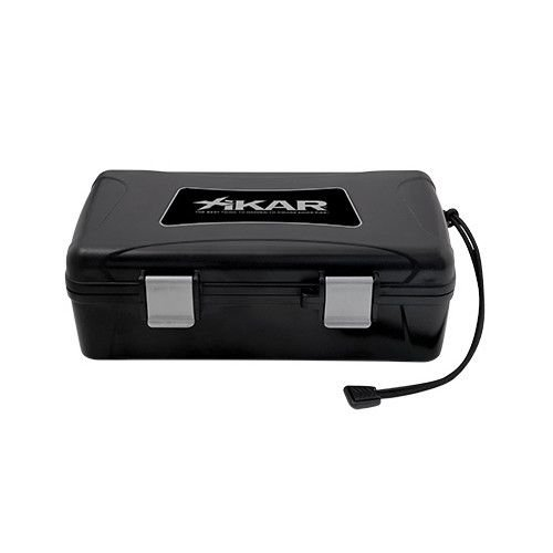 Xikar XIKAR Travel Humidor Black 10ct