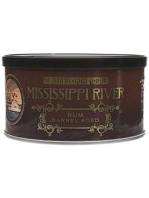 Seattle Pipe Club SPC Pipe Tobacco - Mississippi River  Barrel Aged 2 oz.