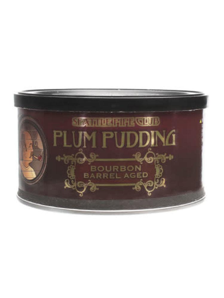 Seattle Pipe Club SPC Pipe Tobacco - Plum Pudding Barrel Aged 2 oz.