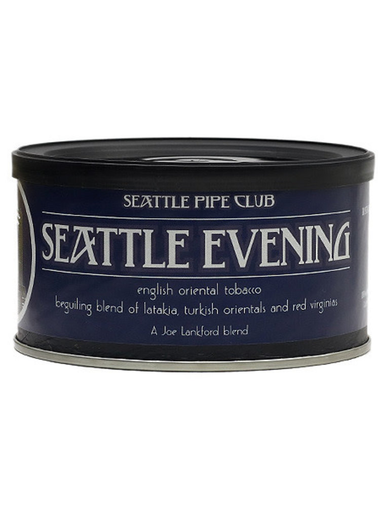 Seattle Pipe Club SPC Pipe Tobacco - Seattle Evening 2 oz.