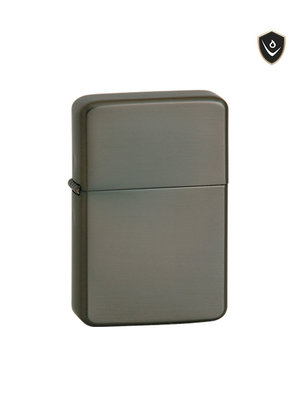Vector Thunderbird Lighter - Gunmetal Satin - Pipe Flame