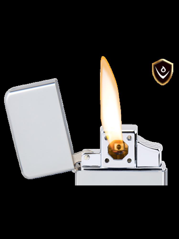 Vector Thunderbird Lighter - Gunmetal Satin - Pipe Flame