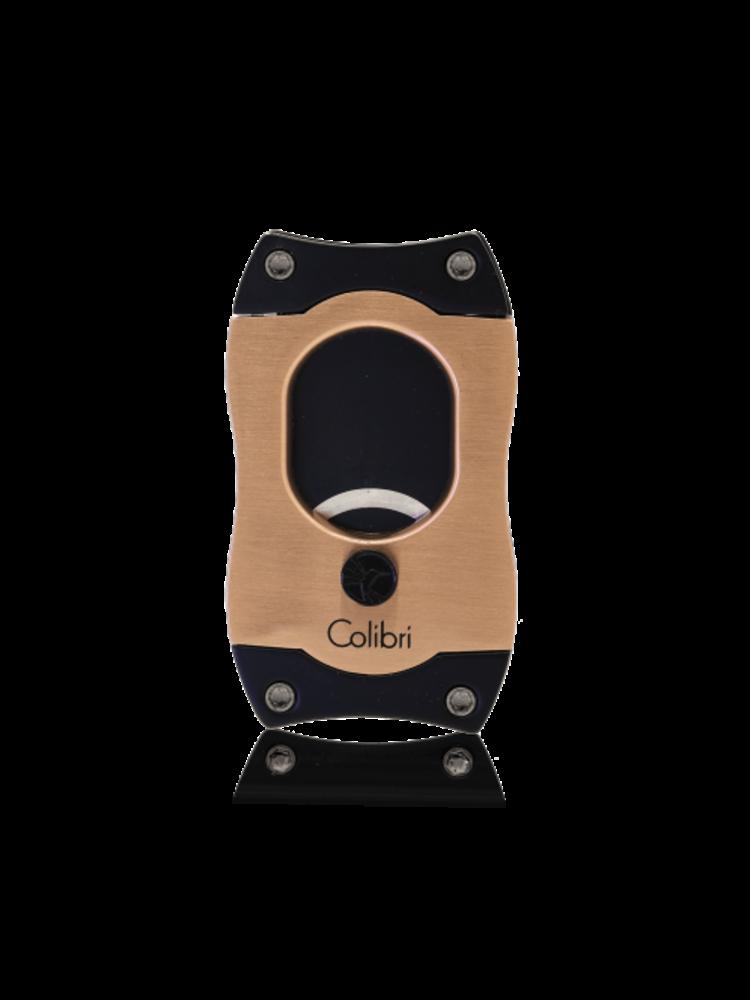 Colibri Colibri S-CUT Cigar Cutter - Black and Rose Gold