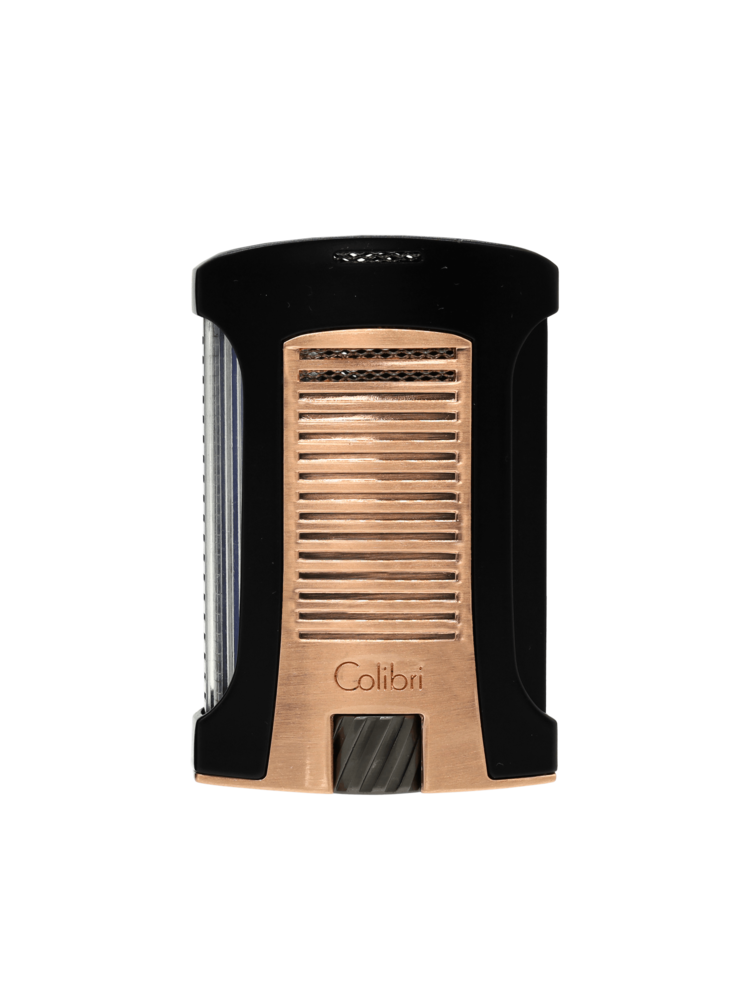 Colibri Colibri Daytona - Single Torch - Rose Gold and Black