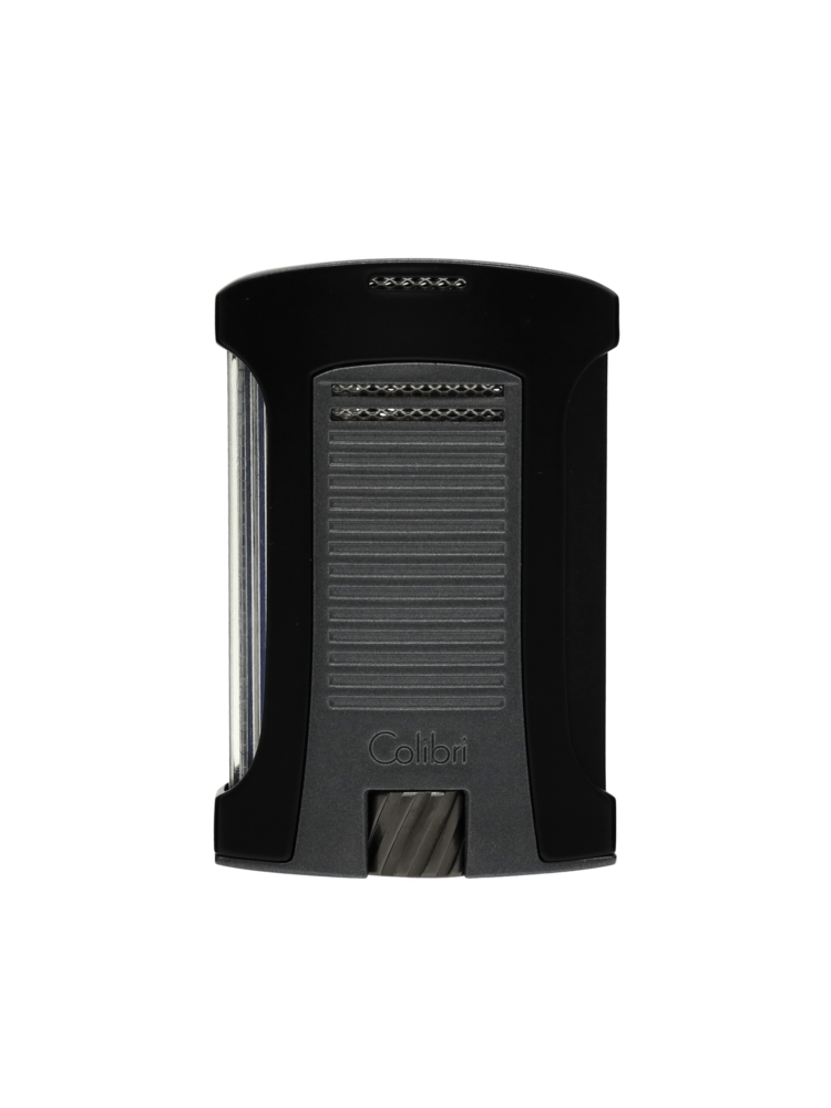 Colibri Colibri Daytona - Single Torch - Charcoal and Black