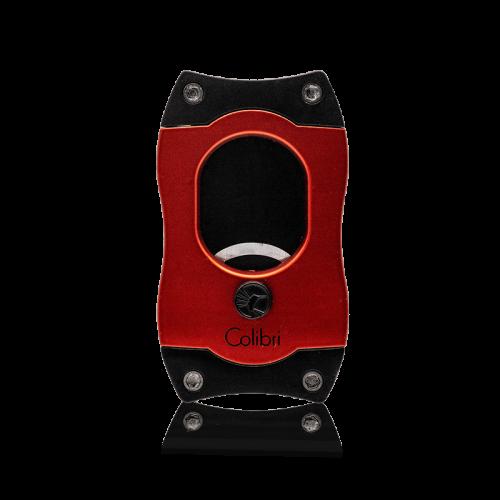 Colibri Colibri S-CUT Cigar Cutter - Black and Red