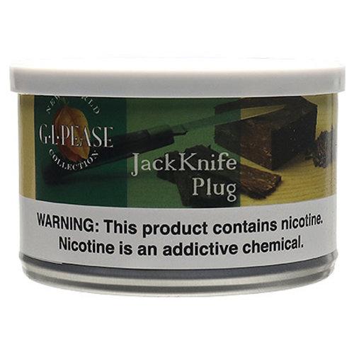 G.L. Pease Pipe Tobacco G. L. Pease Pipe Tobacco - JackKnife Plug 2 oz.