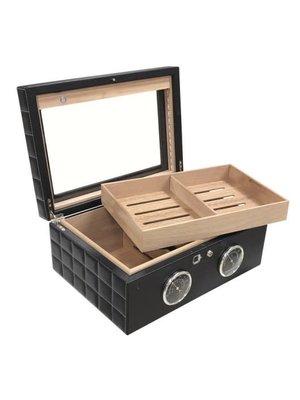 Prestige Imports Lemans GT - Biometric Humidor - Holds 120 cigars