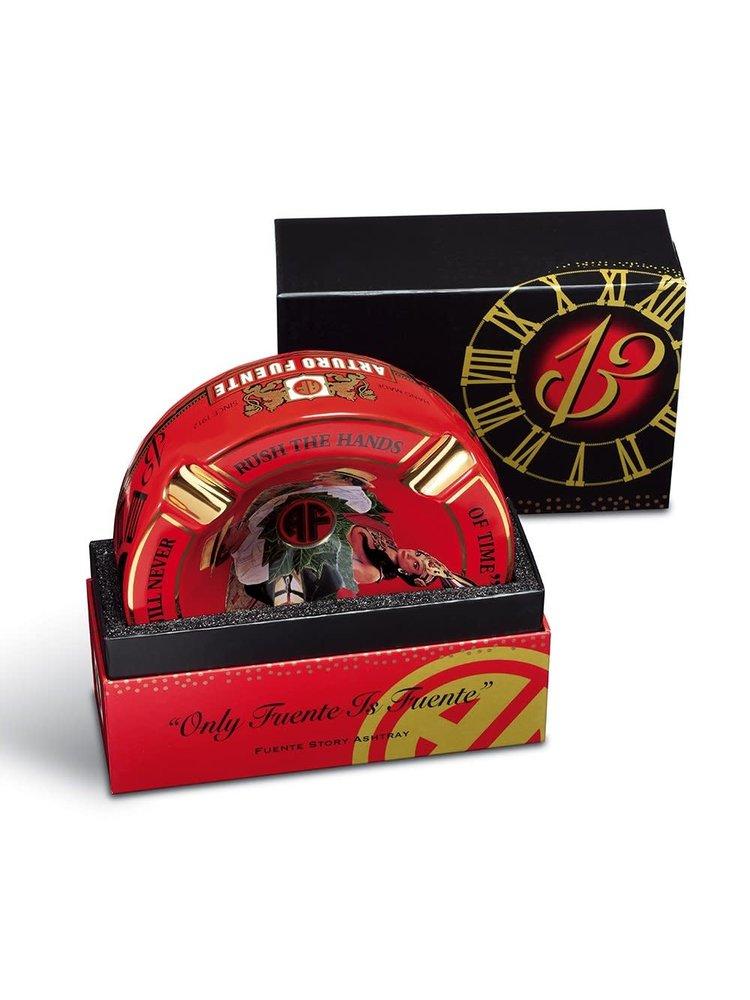 Arturo Fuente Fuente Hands of Time Ashtray - Red