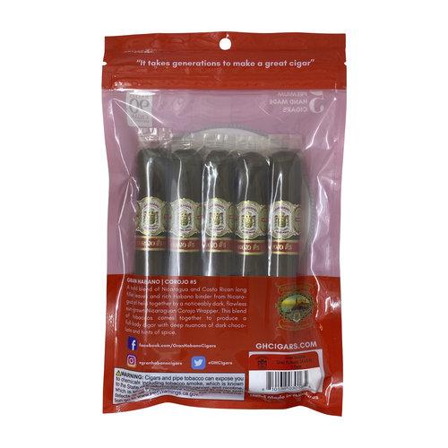 Gran Habano Gran Habano Fresh Pack Sampler - Corojo #5 - 5 Pack