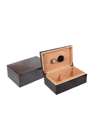 Quality Importers Azteca Humidor - Holds 75