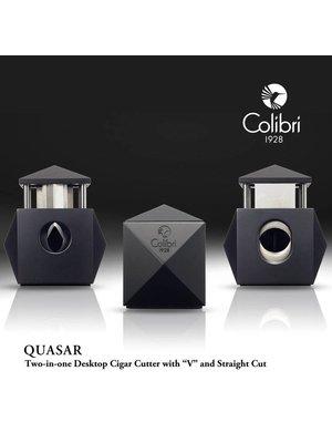Colibri Colibri Quasar (2 in 1) Table Top Cigar Cutter - Red