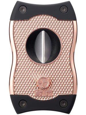 Colibri Colibri SV-CUT (2 in 1) Cigar Cutter - Rose and Black
