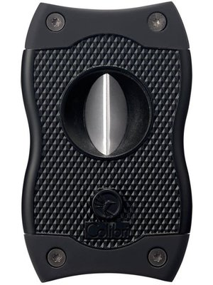 Colibri Colibri SV-CUT (2 in 1) Cigar Cutter - Black and Black