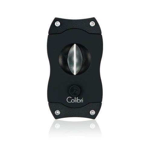 Colibri Colibri V-CUT Cigar Cutter - Black and Black